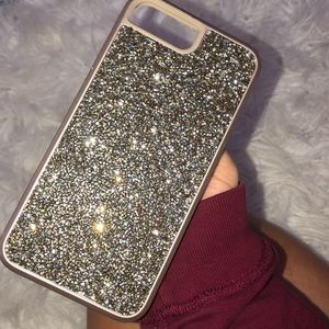 Accessories - Crystal bejeweled iPhone 8plus case